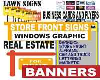 signs and printing