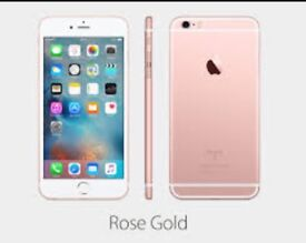 CHEAP IPHONE 6s 64gb rose gold unlocked. Boxed