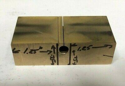 Ampco 18 C95400 Aluminum Bronze Plate 21.25x.75x1.5 Or 1 2.9x.4x1.5
