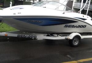 Seadoo challenger 180 jetboat,215hp A1 cond /trailer