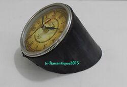 ANTIQUE LOOKING VINTAGE CLOCK 1749 TABLE CLOCK
