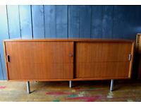 vintage teak sideboard Danish style g-plan style