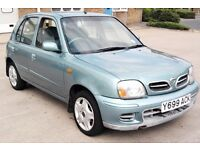 FIRST CAR Nissan Micra Long Mot 5 Door Cheap Insurance Low Mileage px corsa yaris corolla fiesta