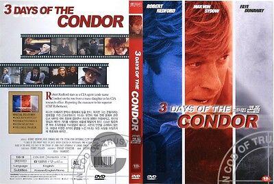 3 Three Days Of The Condor (1975 - Robert Redford, Faye Dunaway  DVD NEW
