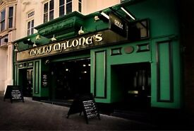 Assistant Manager Required - Molly Malone's Brighton