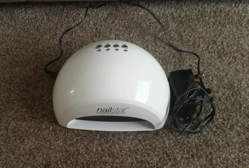 Professional Nail star led lamp cures uv and led gel in half the ...