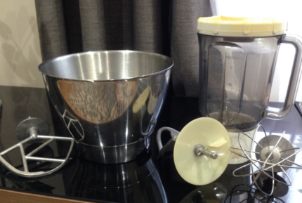 Kenwood Chef Attachments - Blender, whisk, K beater, bowl
