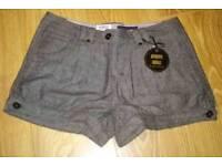 Ladies herring bone pattern shorts