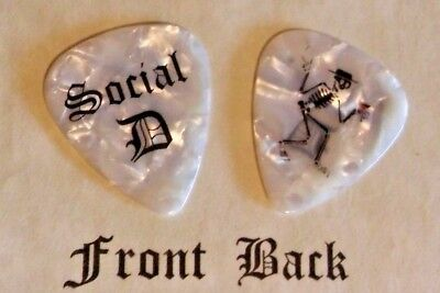 SOCIAL DISTORTION band Logo guitar pick  -(W)