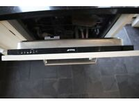 Smeg Integrated Dishwasher (Model DI 612 CA)