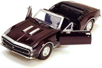 Motor Max - 1967 CHEVY CAMARO SS (Dark Burgundy) - Model Scale 1:24