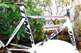 Time RXR Ulteam Carbon Road Racing Bike Frame frameset 56cm was £5000 Good Condition