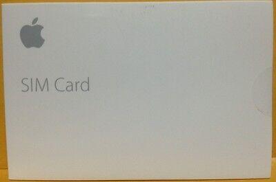 New Clean Apple Nano Sim Card for iPad models with Touch ID Air 2 mini MJVV2LL/A