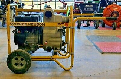 Wacker Neuson 3 Trash Pump Water Transfer Pump