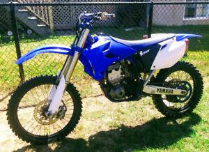 Yamaha Yz250F 2005