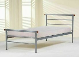 👍🏻😎 SALES ENDING SOON! ON SINGLE DOUBLE KING ALL TYPE OF METAL BED WITH ANY CHOICE OF MATTRESS