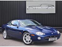 2001 Model Jaguar XK8 4.0 V8 Coupe *Pacific Blue + Ivory + Nav + Beautiful*