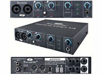 Focusrite Saffire Pro 14 with firewire to thunderbolt adapter