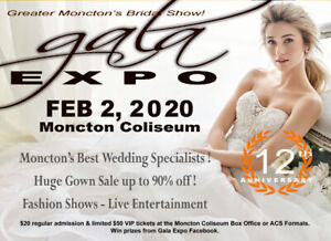 Gala Expo Wedding Show - Over 1000 dresses up to 90% off