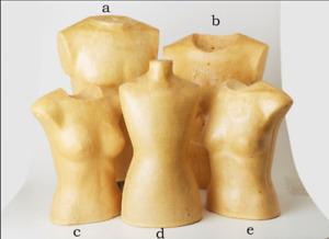 """Mannequin """"Bust-Form"""" en mousse de polyurethane - TORSO"""