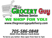 The Grocery Guy Delivery Service.