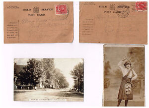POSTCARDS FROM EARLY 1900S