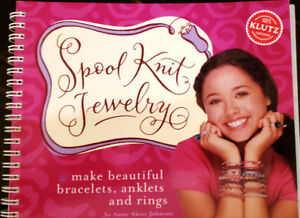 Spool Knit Jewellery making instructional book only.