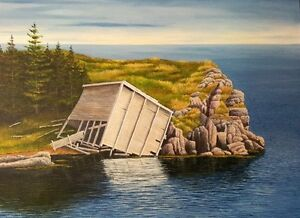 ONE on ONE PAINTING LESSONS - painting with acrylic St. John's Newfoundland image 2
