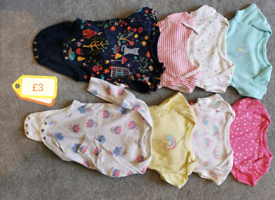 Bundles of girls 3-6 month baby girl clothes - priced individually.