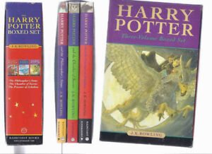 Boxed set: Harry Potter & the Philosopher's Stone Rowling