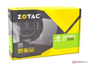 NVIDIA ZOTAC GeForce GT 1030 2GB Benchmark 2259