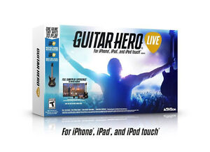 New Sealed Guitar Hero for Apple TV iPod iPhone iPad IOS Product