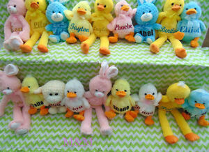 Personalized Easter Stuffies And other great Easter gifts