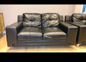 DFS Leather Suite