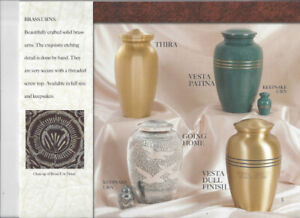 We are the Leading Canadian Supplier of Cremation Urns,