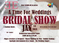 Frederictons Largest Bridal show.... Over $5K in door prizes
