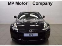 2010 10 NISSAN 370Z 3.7 V6 GT 3D 328 BHP 3DR 7SP V6 AUTO COUPE, BLACK, 55,000M,