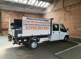 Free scrap metal collection, Rubbish removals, we also buy scrap cars