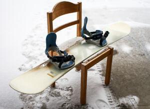 Salomon Salomon 156 snowboard+bindings+Burton boots