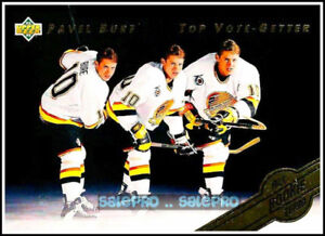 6X PAVEL BURE 1992-93 UPPER DECK ALL ROOKIE TEAM #SP2 NHL.