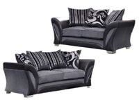 Brand New Fabric Fara 3+2 Or Corner Sofa On Offer