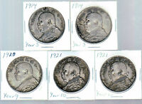 Chinese Fat Man silver dollars 1914 to 1921