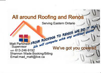 NEED YOU ROOF OR RENO DONE NOW? NO HST PROMO