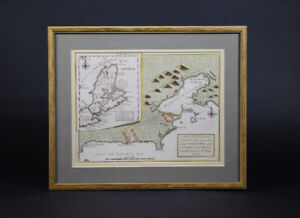 Silent Bidders ONLINE Auction - Engraved & Colored Maps