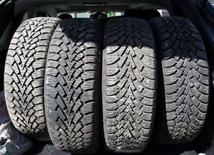 GOODYEAR Nordic Winter Tires on Winter Rims