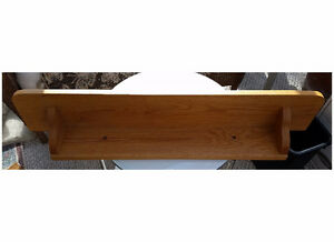 Shelf, solid 1 inch genuine solid oak  3ft x 7 inches only $ 30