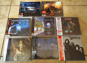 JAPANESE ROCK CDS COLLECTION w/OBI (Rare & Out Of Print)!