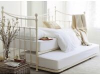 Laura Ashley Hastings Ivory Day Bed cost £1100 new