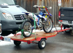 Bike or Sea Doo trailer in mint condition