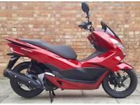 Honda PCX 125cc, Excellent condition with only 5100 miles!